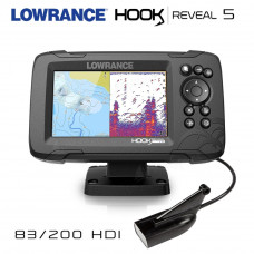 Lowrance Hook REVEAL 5 | 83/200 HDI сонда